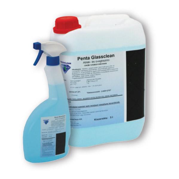 Ablaktisztítószer Penta Glassclean 5 literes