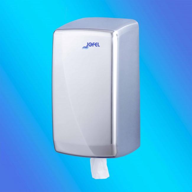 Jofel AG35500 mini belsőmagos rozsdamentes fém, fényes papírtörlő adagoló