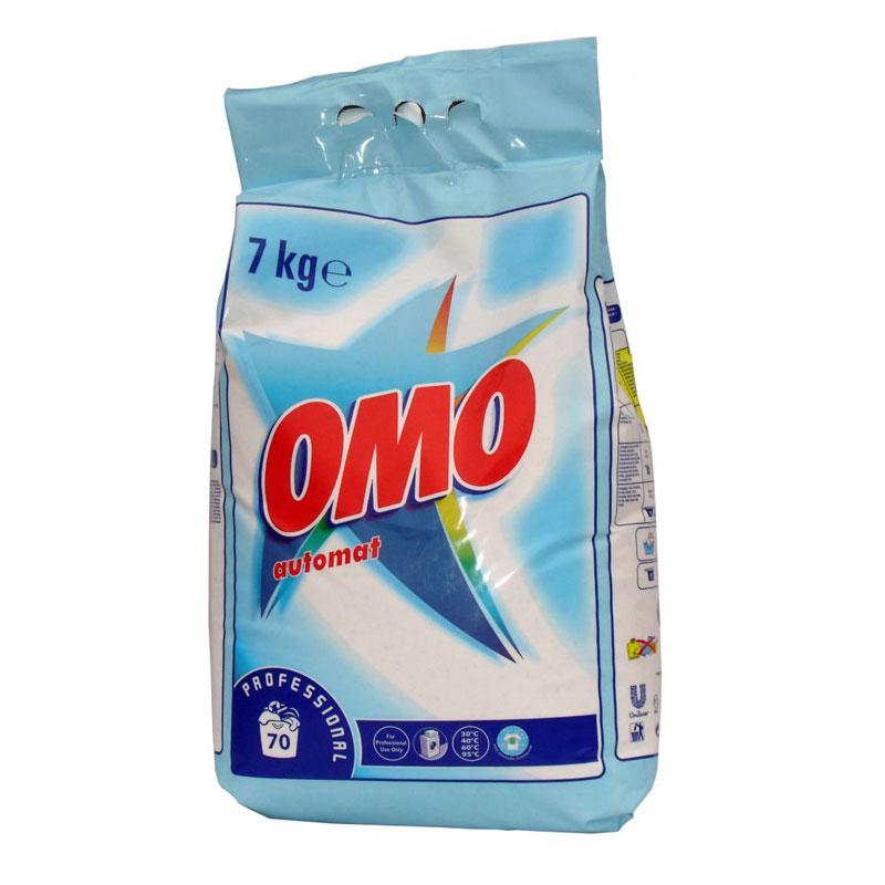 OMO Automat White 7 kg-os mosópor fehér ruhákhoz