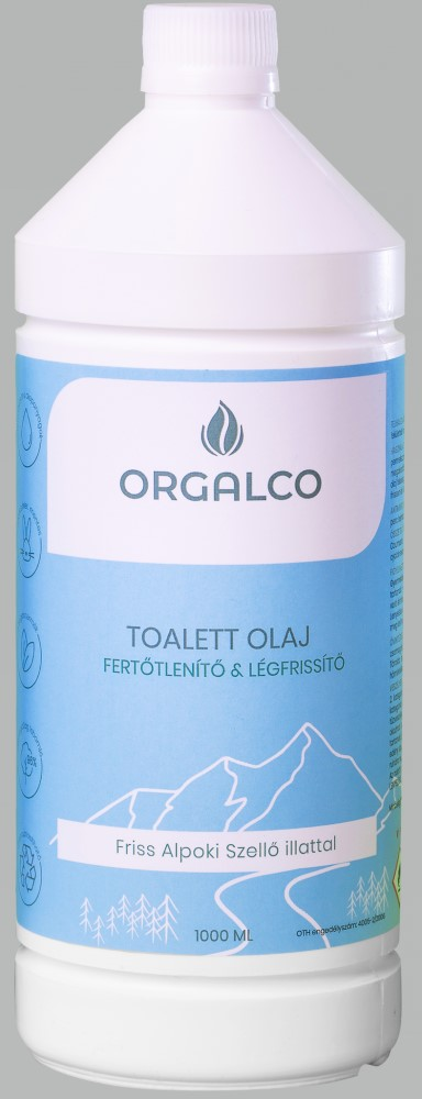 WC olaj  Exquisit 1 literes( kék)