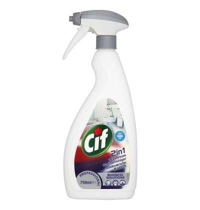 Cif fürdőszoba tisztító, 750 ml-es, szórófejes