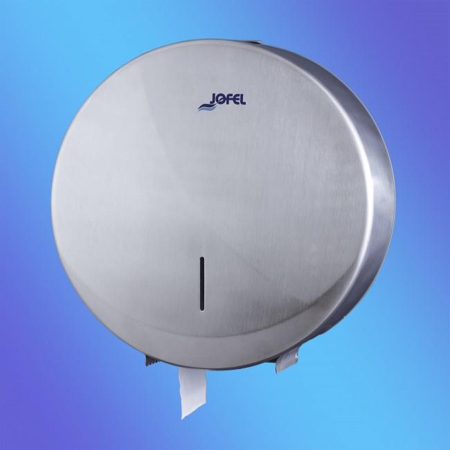 Jofel AE25000 midi, Futura rozsdamentes fém, matt toalettpapír adagoló