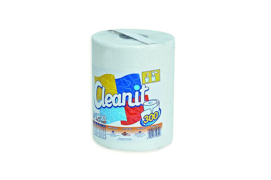 Cleanit 300 mono roll tekercses univerzális törlőpapír