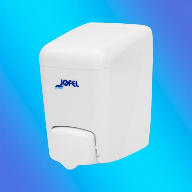 Jofel AC84020 0,4 literes törtfehér színű, műanyag szappanadagoló