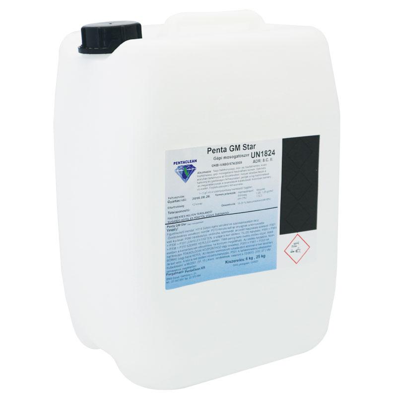 Penta GM Star klórmentes gépi mosogatószer 25 kg