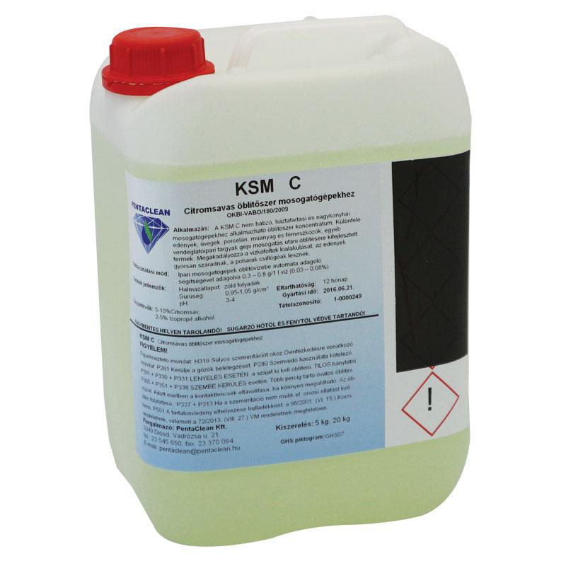 Penta KSM C citromsavas öblítőszer mosogatógépekhez 5 kg