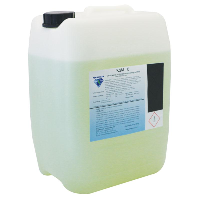 Penta KSM C citromsavas öblítőszer mosogatógépekhez 20 kg