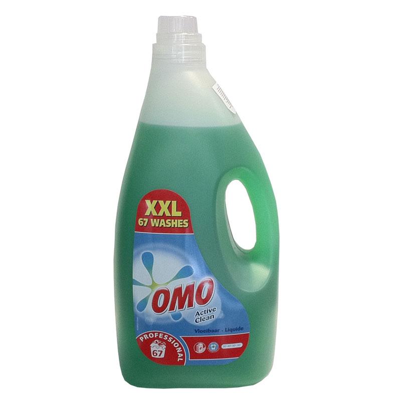 OMO Prof. Active Clean folyékony mosószer 5 literes
