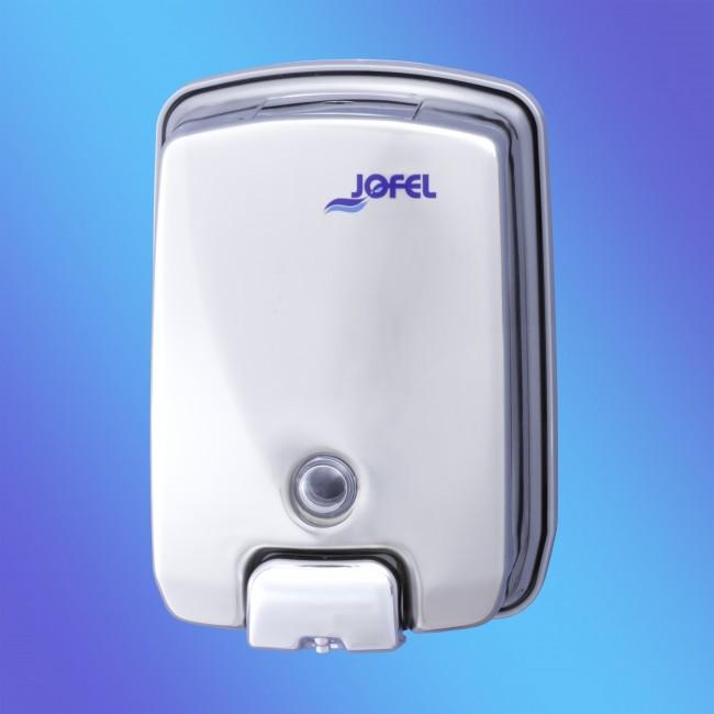 Jofel AC54500 rozsdamentes fém, 1 literes fényes szappanadagoló