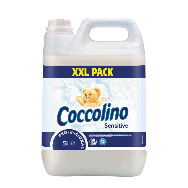 Coccolino Pure ( fehér)  5 literes öblítő koncentrátum