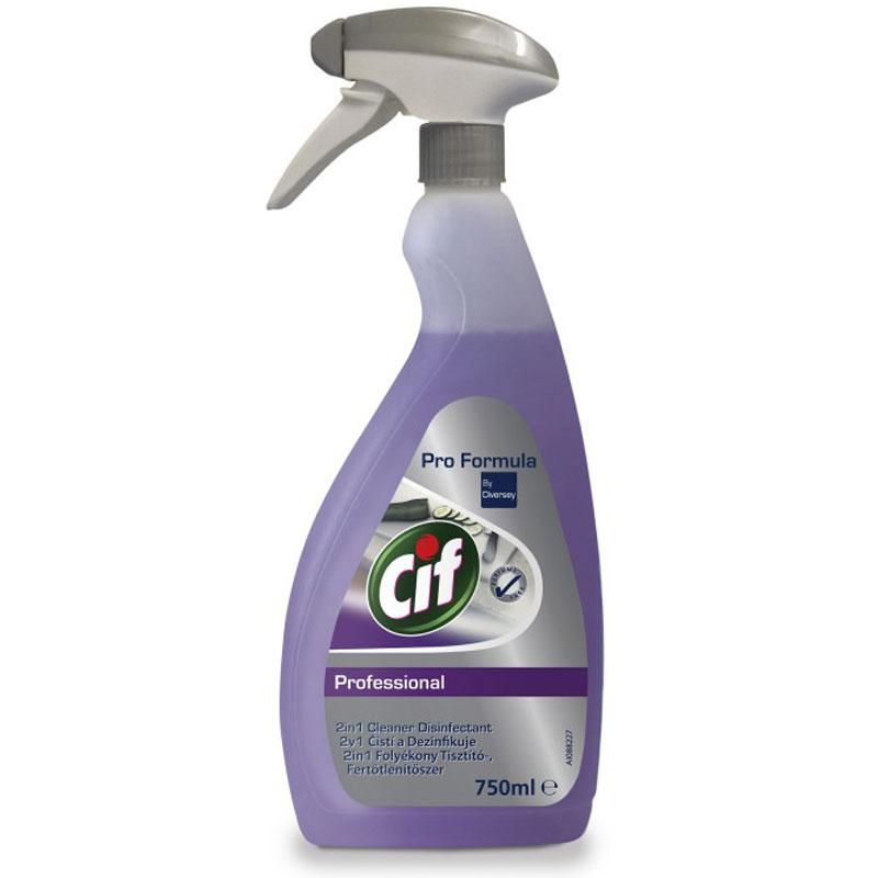 Cif tisztító és fertőtlenítőszer 750 ml-es, szórófejes