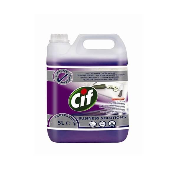 Cif tisztító és fertőtlenítőszer 5 literes