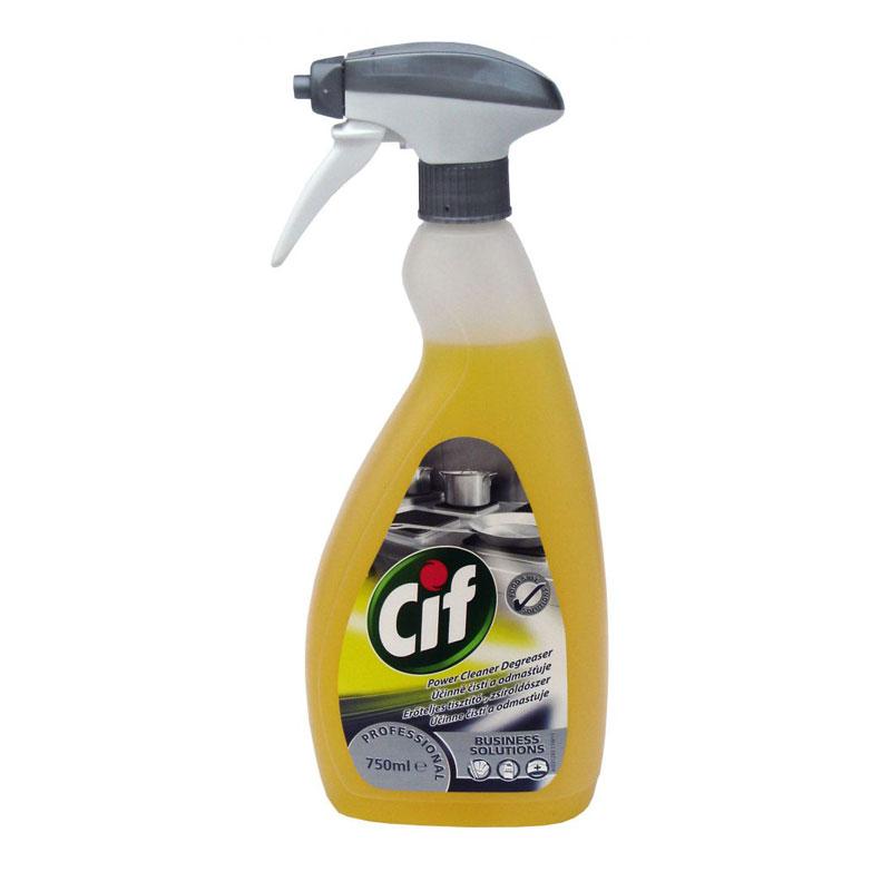 Cif erőteljes tisztító és zsíroldószer 750 ml-es, szórófejes