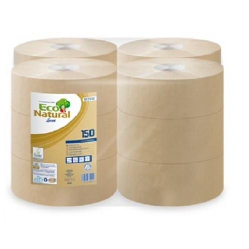 EONATURAL 150 Mini Jumbo 19 cm átmérőjű környezetbarát toalettpapír