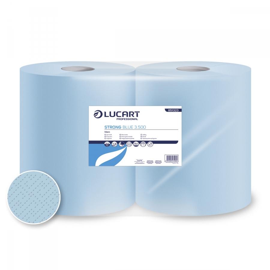 Strong Blue 3.500, ipari törlőpapír 3 rétegű, kék, 32 cm átm.