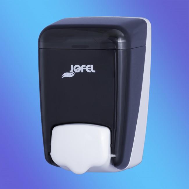 Jofel AC84000, 0,4 literes, füstszínű, műanyag szappanadagoló