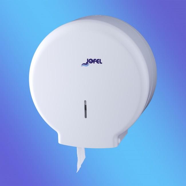 Jofel AE51000 midi, fehér műanyag toalettpapír adagoló