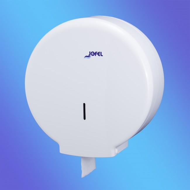 Jofel AE55000 maxi, fehér műanyag toalettpapír adagoló