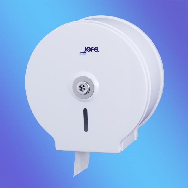 Jofel AE12400 mini, fehér festett fém toalettpapír adagoló