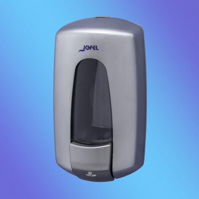 JOFEL AC79000 1 literes rozsdamentes matt szappanadagoló