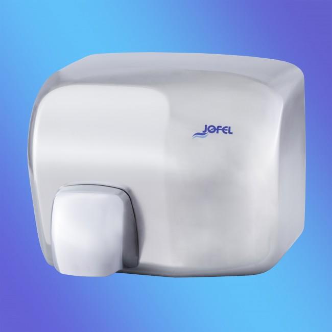 Jofel AA92000 rozsdamentes fém, fényes, automata 2 KW kézszárító