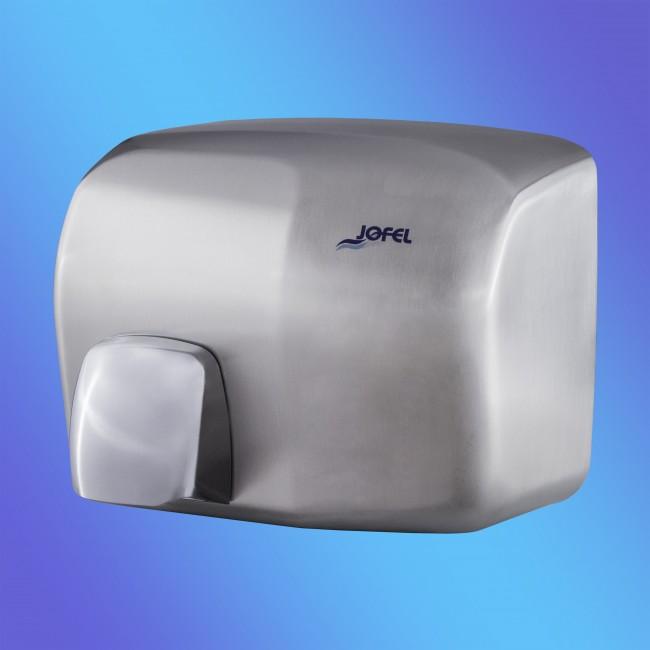Jofel AA92500 rozsdamentes fém, matt, automata, 2 KW kézszárító