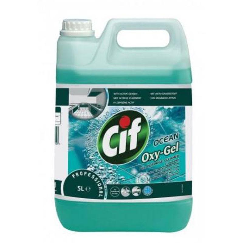 Cif Oxygel óceán illatú általános tisztítószer 5 literes