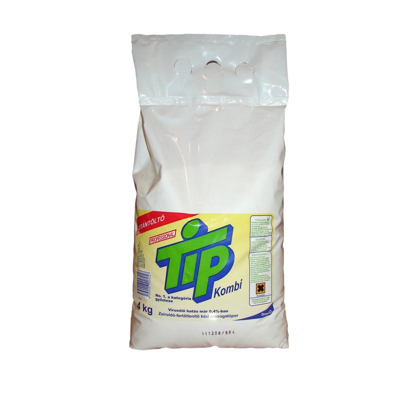 Tip Kombi fertőtlenítő hatású kézi mosogatópor 4 kg